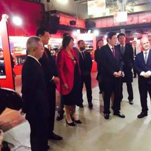 Beijing Mayor Guo Jinlong's visit to London 2015