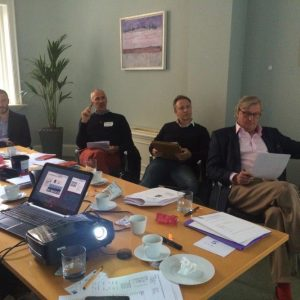 A Cross Business Culture training session