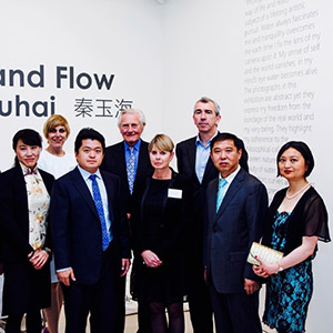 'Ebb and Flow' Photography Exhibition opened by Lord Michael Heseltine